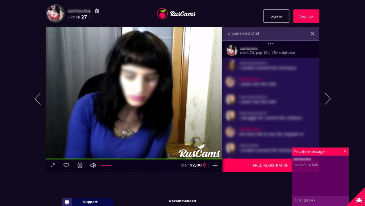 RusCams Free Chat