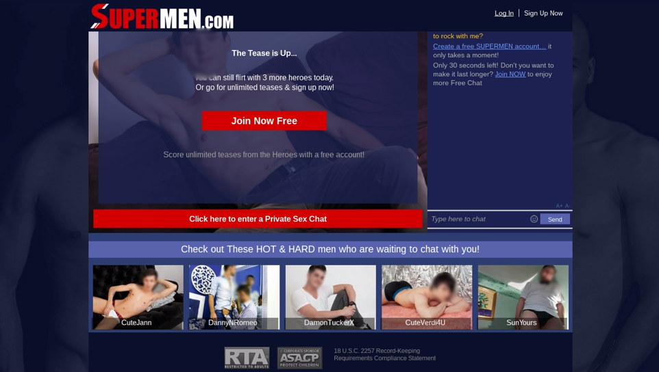 SuperMen Join Now Free